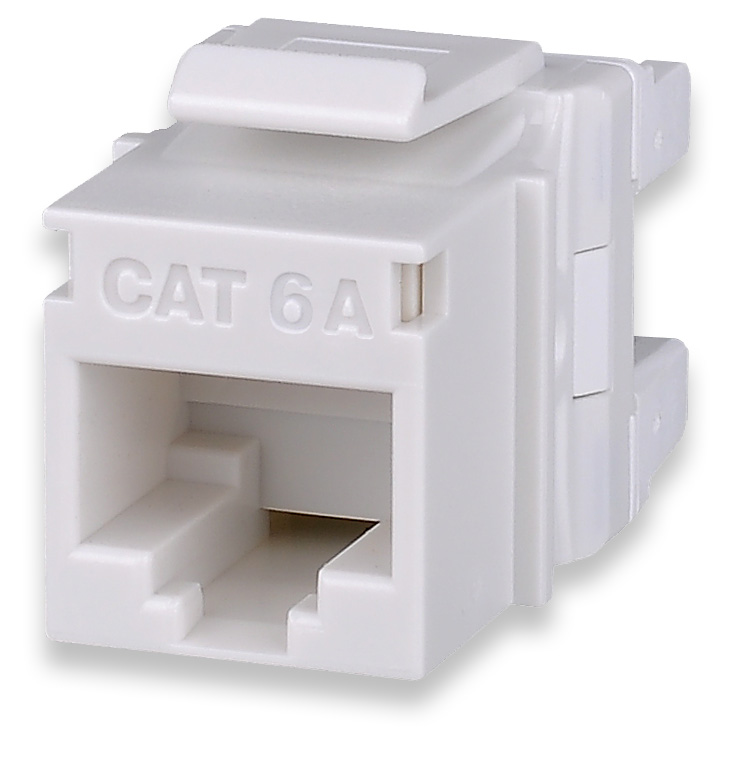 SGM KJ458MT-C6C-WH SGM MODULE CAT6 WHITE T568A/B HIGH-DENSITY KEYSTONE JACK