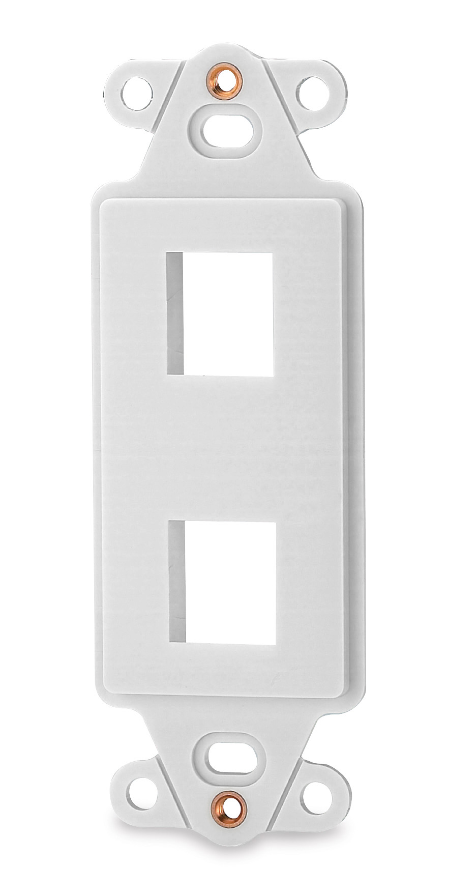 SGM DA-2-WH SGM TWO PORT PLATE DECORA WHITE