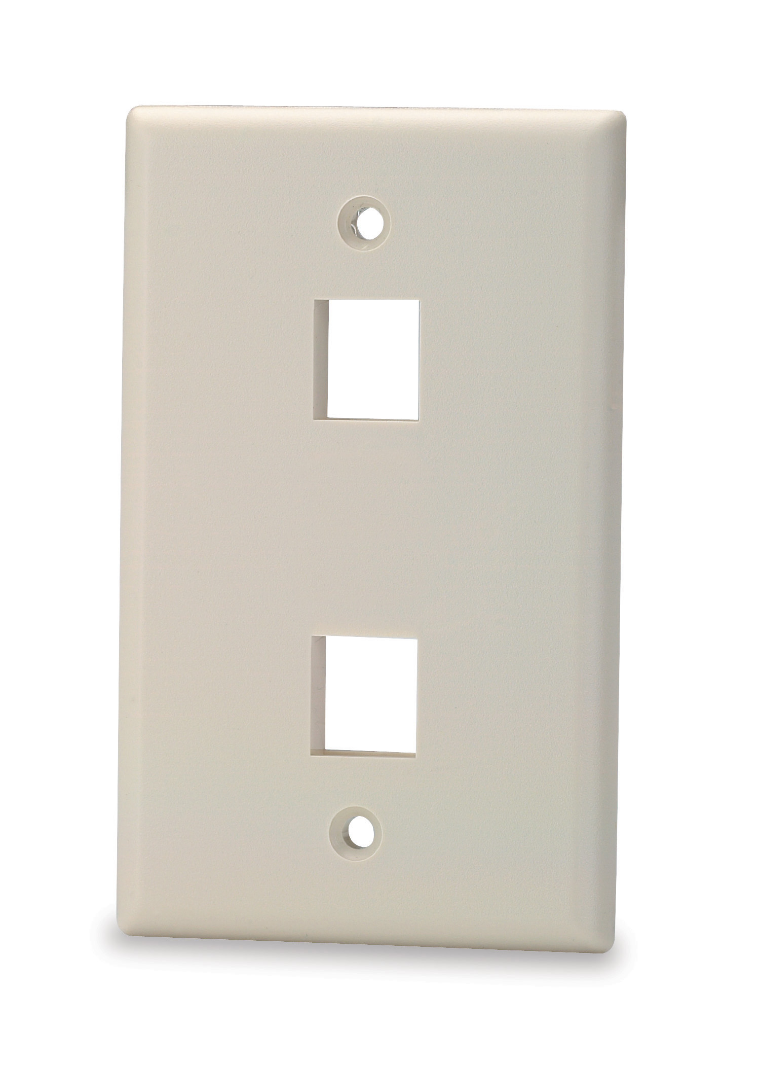 SGM SKF-2 SGM FACE PLATE 2-PORT LIGHT IVORY