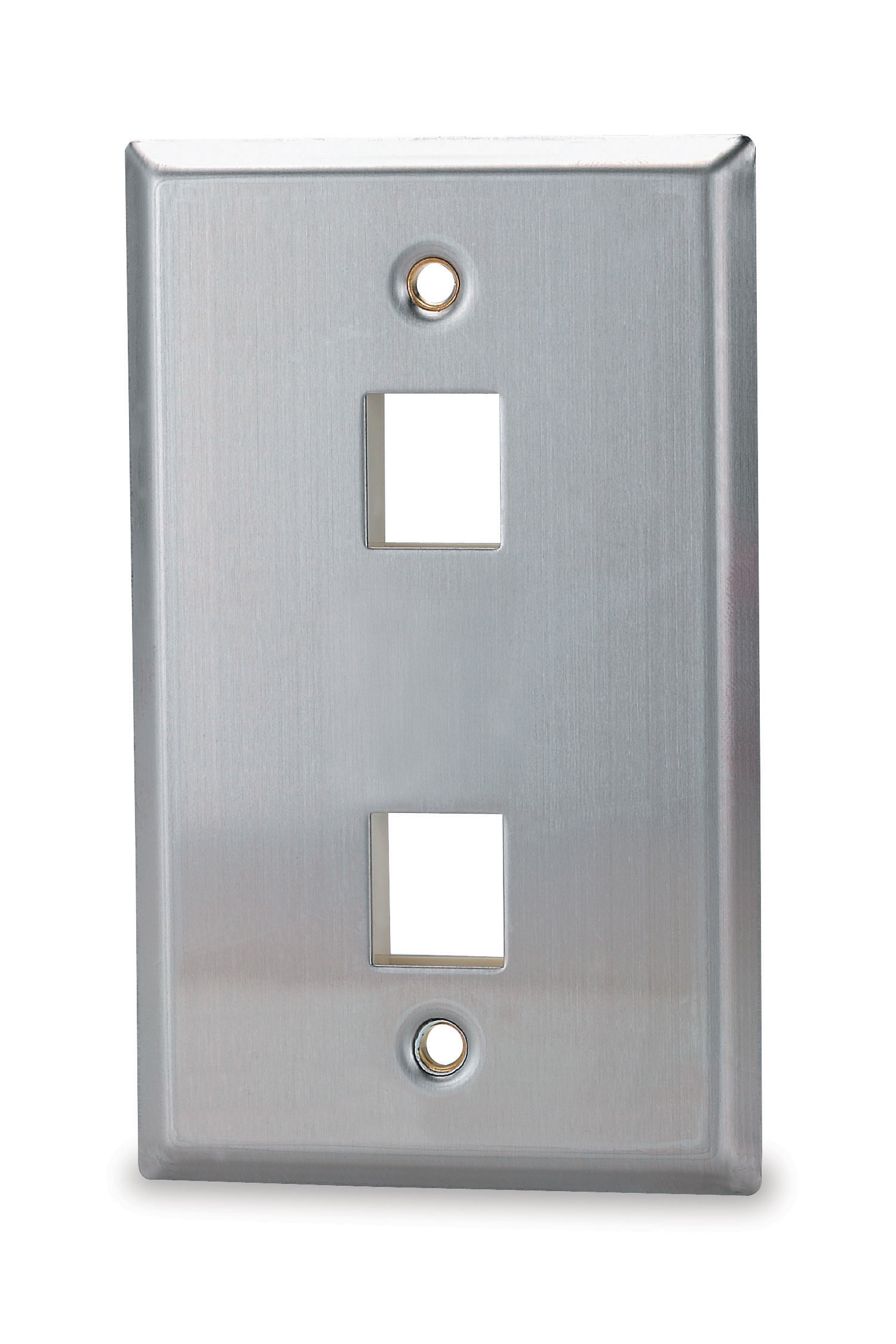 SGM SSKF-2 SGM FACE PLATE 2-PORT STAINLESS STEEL