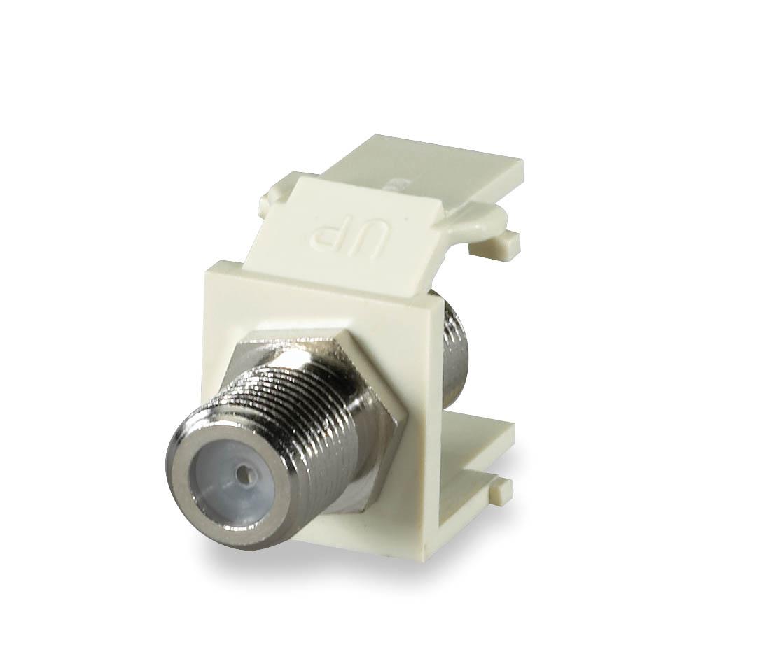 SGM CMK-F SGM F-TYPE KEYSTONE MODULE LIGHT IVORY